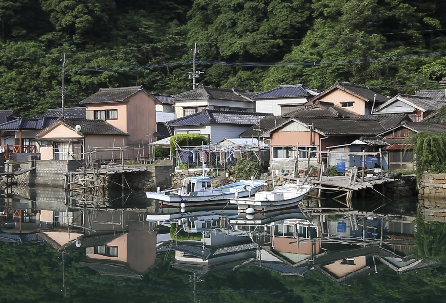 A view of the Sakitsu community